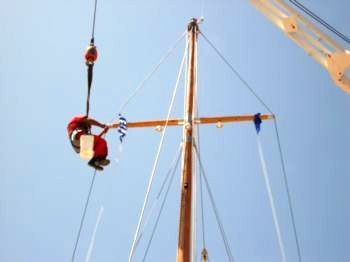 Partheni Boatyard Rigging