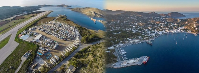 Partheni Boatyard and Lakki Marina